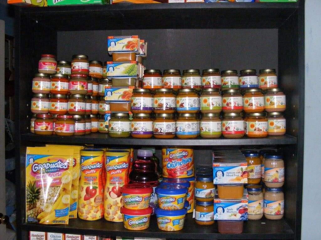 Baby Food. Gerber Stockpile. | Organic baby clothes, Baby ...