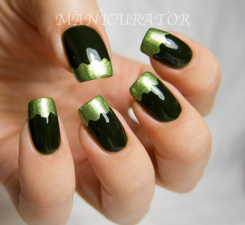Short Nail Funky Simple Nail Designs French Tips | The Style Of ...