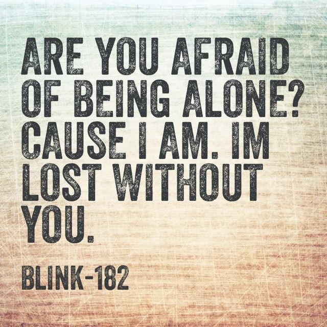 Blink 182 I M Lost Without You