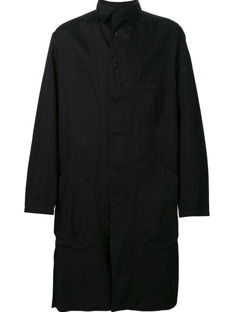 YOHJI YAMAMOTO 长款贴袋外套. #yohjiyamamoto #cloth #长款贴袋外套
