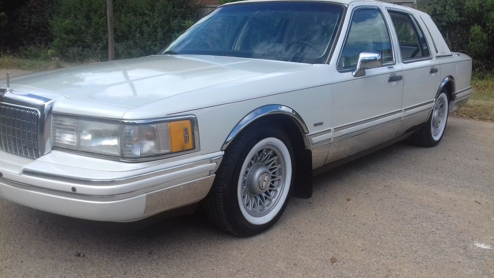 Ebay 1994 Lincoln Town Car Black Tie Edition Uk Classic Cars