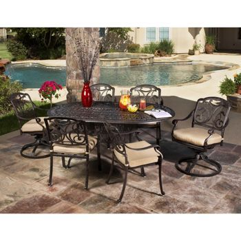 Costco San Paulo 7 Piece Patio Dining Set