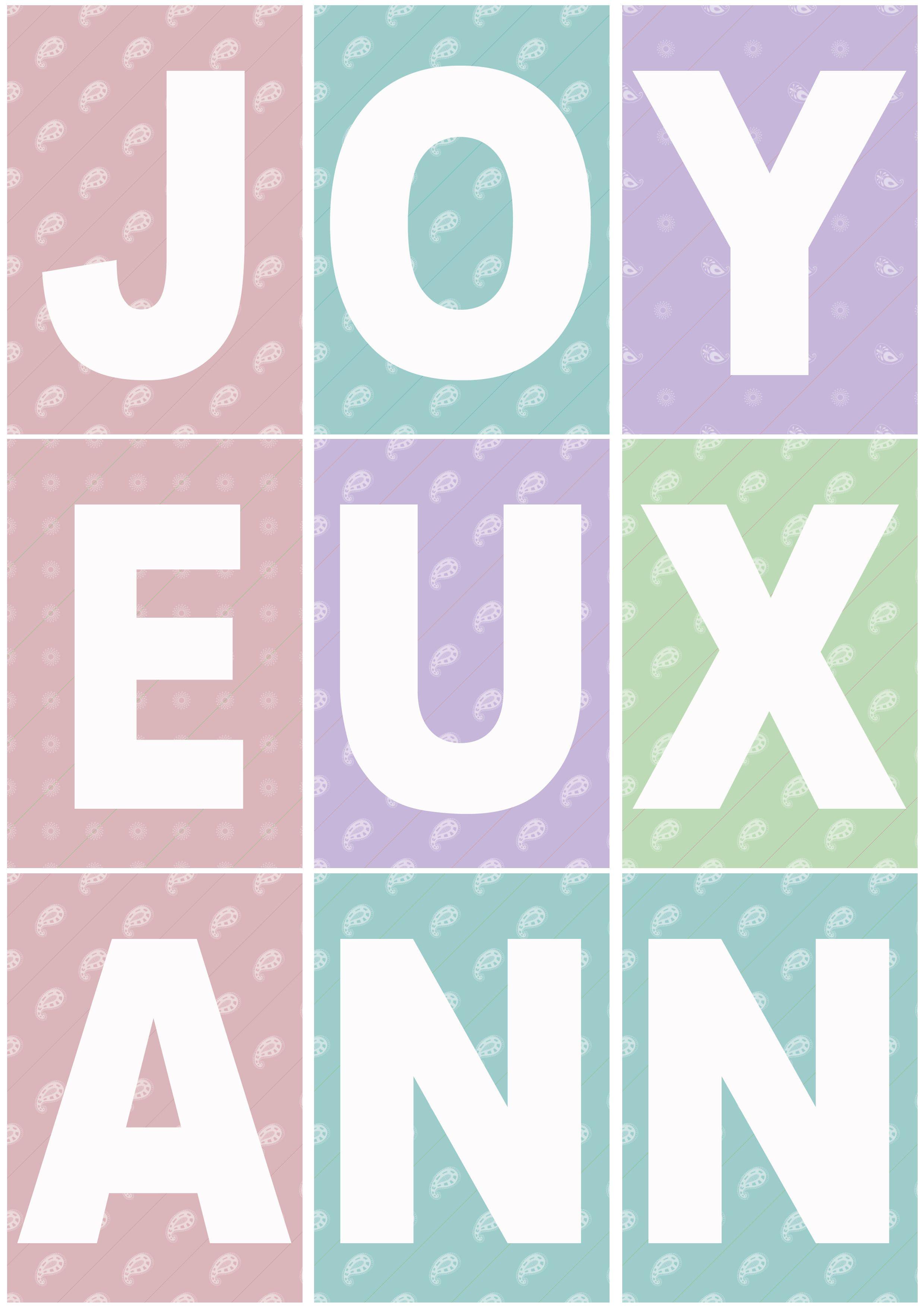 Favori Joyeuxvignette.jpg | ce1 | Pinterest | Anniversaires, Banderole  UO35