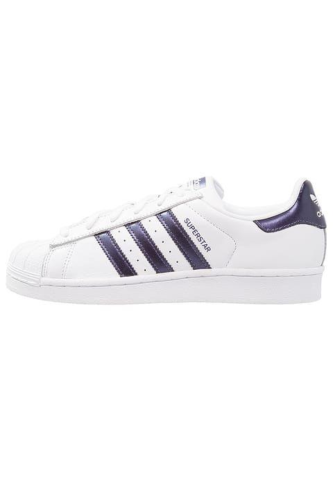 e04afa633aab adidas Originals SUPERSTAR - Sneaker low - footwear white purple night  metallic für 99