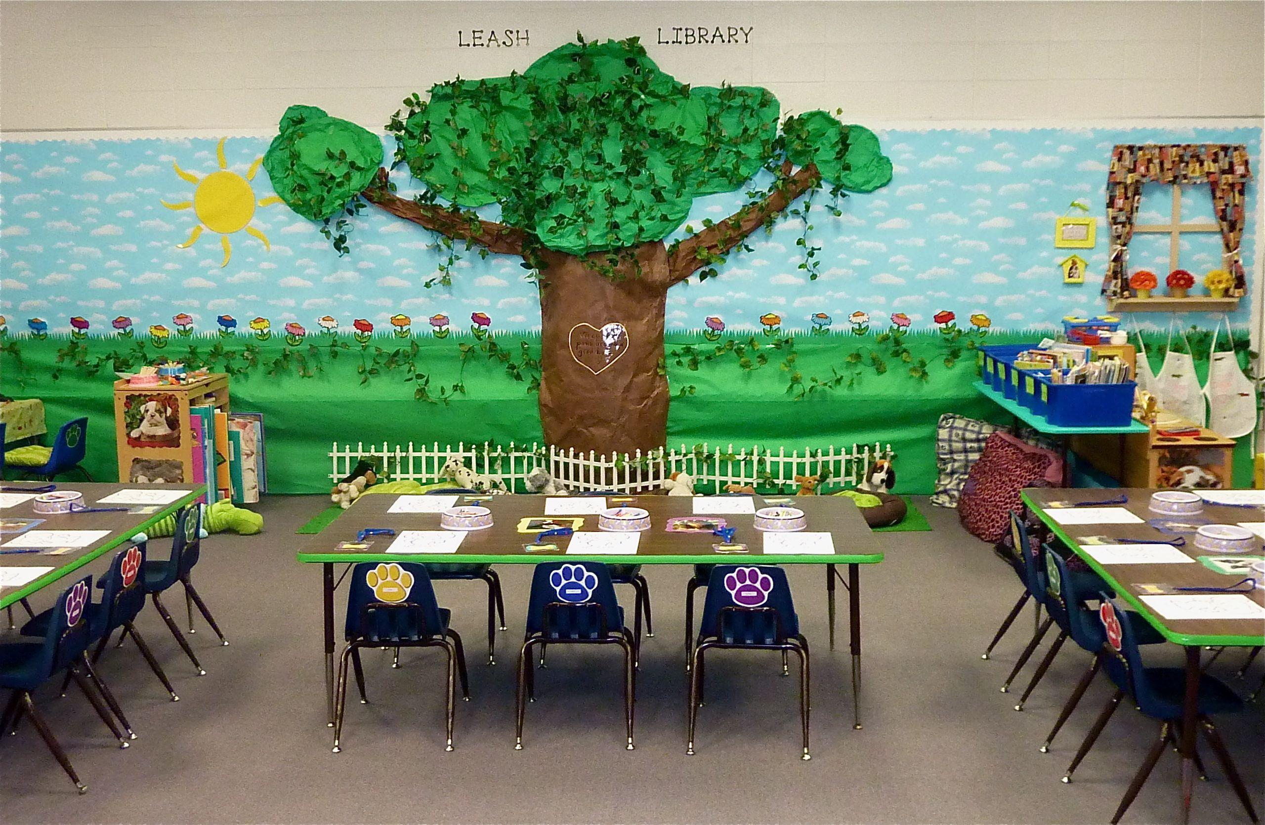 My Leash Library Kindergarten Dog Theme