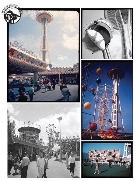 Photos from the original World's Fair in 1962