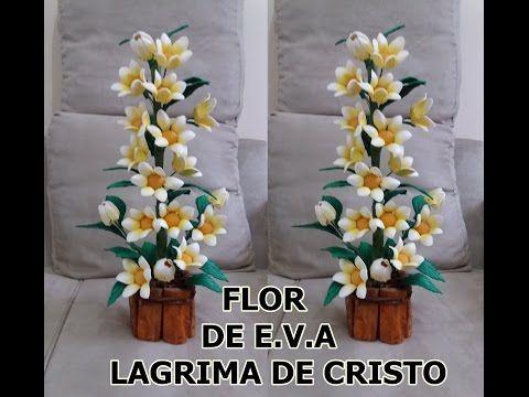Mega Flores Flores Em Eva Amarilis Passo A Passo Youtube
