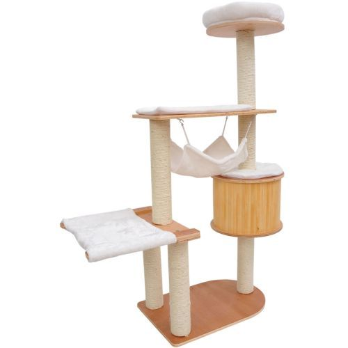new 60   cat tree pet condo house scratch post condo tower furniture toy hammock new 60   cat tree pet condo house scratch post condo tower      rh   pinterest