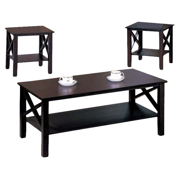 Best Zelda 3 Piece Coffee Table Set 3 Piece Coffee Table Set 400 x 300
