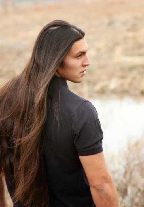 Long hair man alternative model boy man www. Description from ...