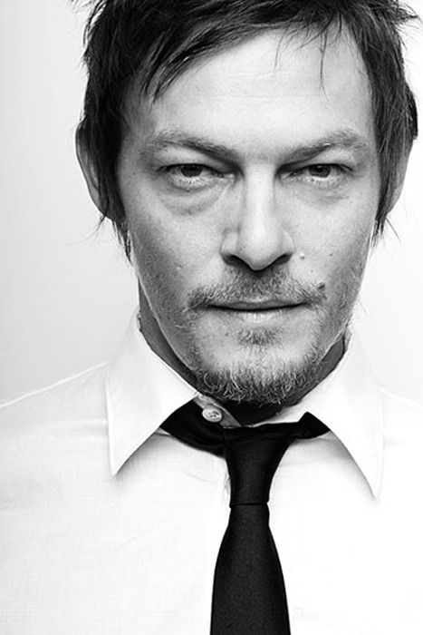 Norman Reedus. I only know him from The Walking Dead but that is quite enough.