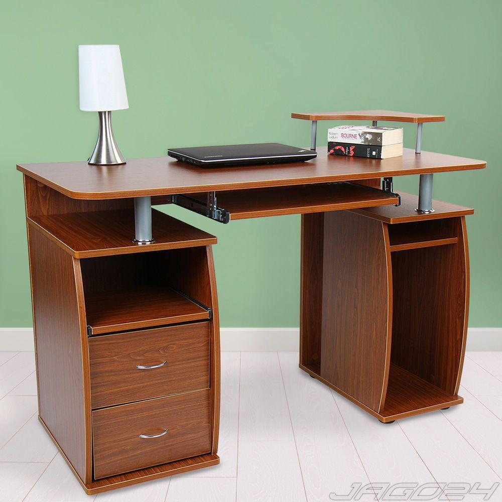 bureau table ordinateur informatique pc travail tablette clavier meuble au choix construction. Black Bedroom Furniture Sets. Home Design Ideas