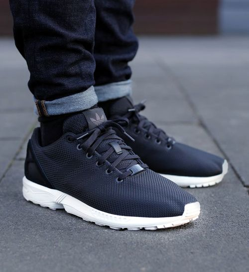 best loved 55ae6 03518 ☑️ Adidas ZX Flux weave black elements | Kicks | Adidas zx ...
