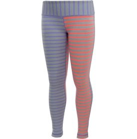 Under Armour Girls' Two Color Stripe Leggings - Dick's Sporting ...