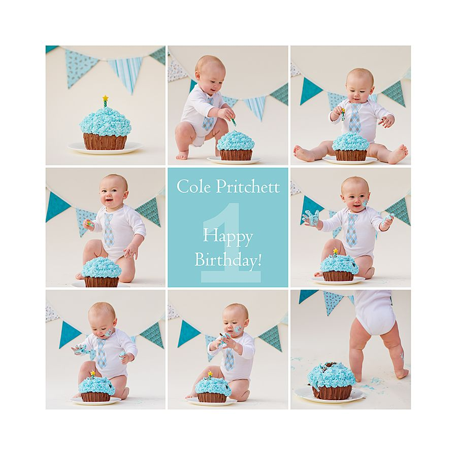 Boy 1st Birthday Smash Cake | First Birthday Cake Smash Photoshoot ...