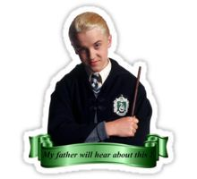 Draco Malfoy Stickers Harry Potter Stickers Harry Potter Portraits Draco Malfoy