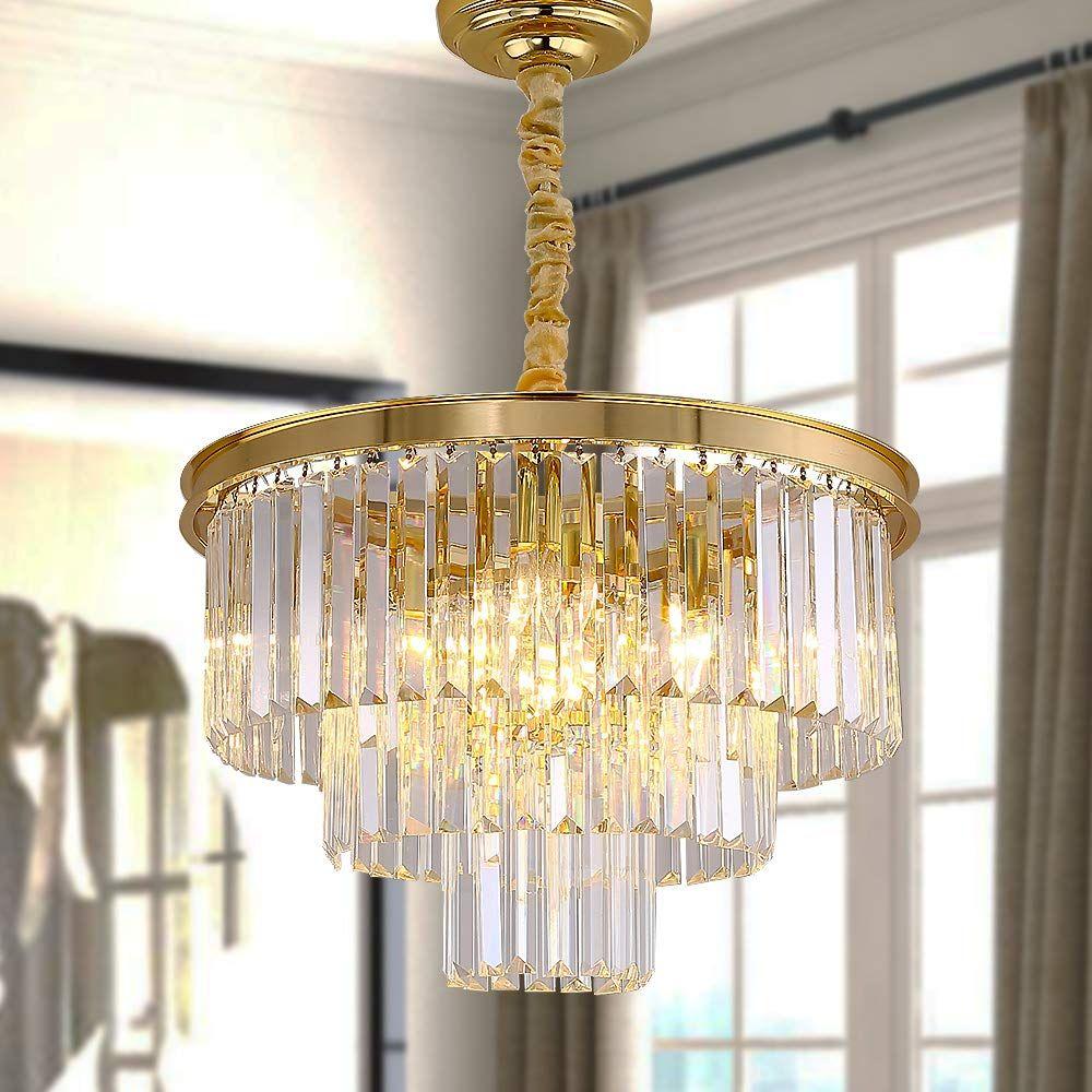 Large Gold Chandelier In 2020 Modern Lighting Chandeliers