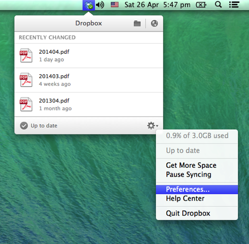 How to save space on your Mac hard drive with Dropbox