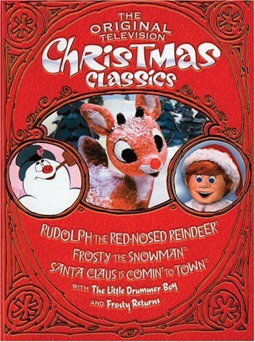 the original television christmas classics rudolph the red nosed reindeer santa claus is comin to town frosty the snowman frosty returns the