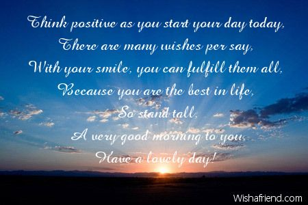 positive thinking messages - Google Search Positive Thought - best wishes in life