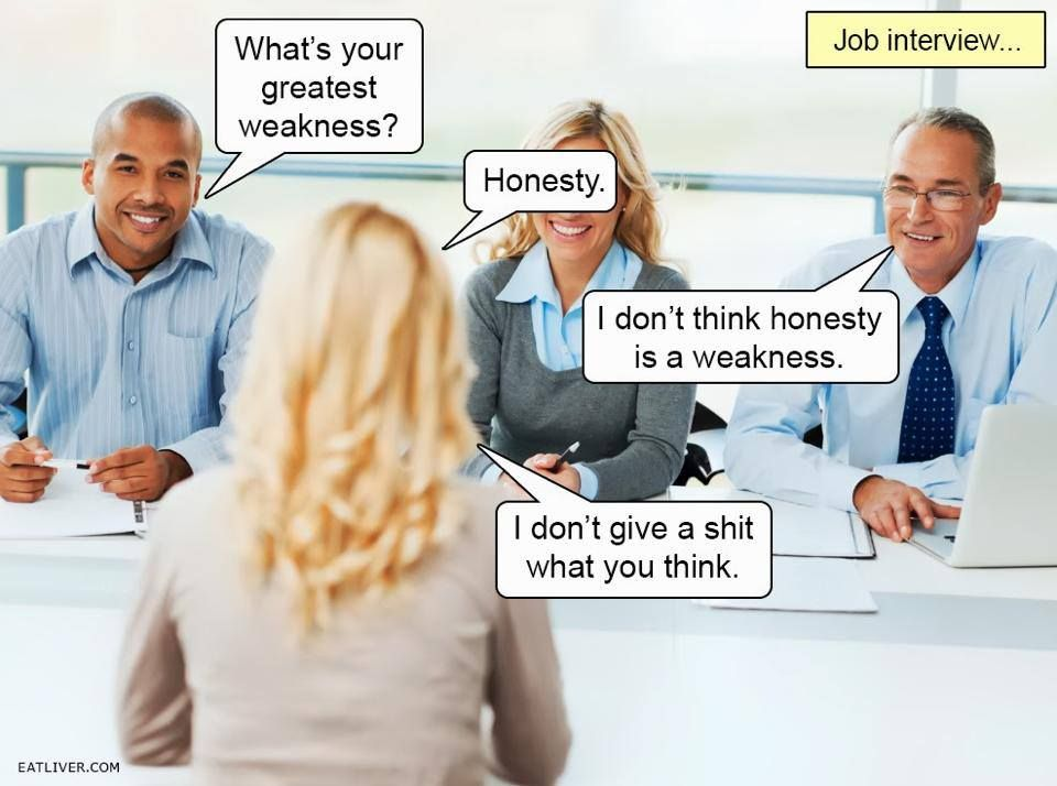 are you still asking what are your strenghts weaknesses in job