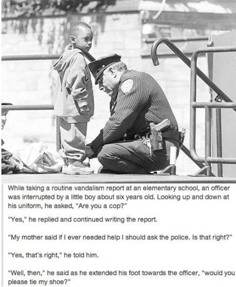 Are You A Cop Faith In Humanity Humanity Restored Faith In