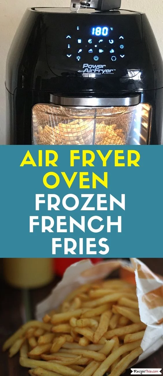 Air Fryer Oven Frozen French Fries #airfryerrecipes