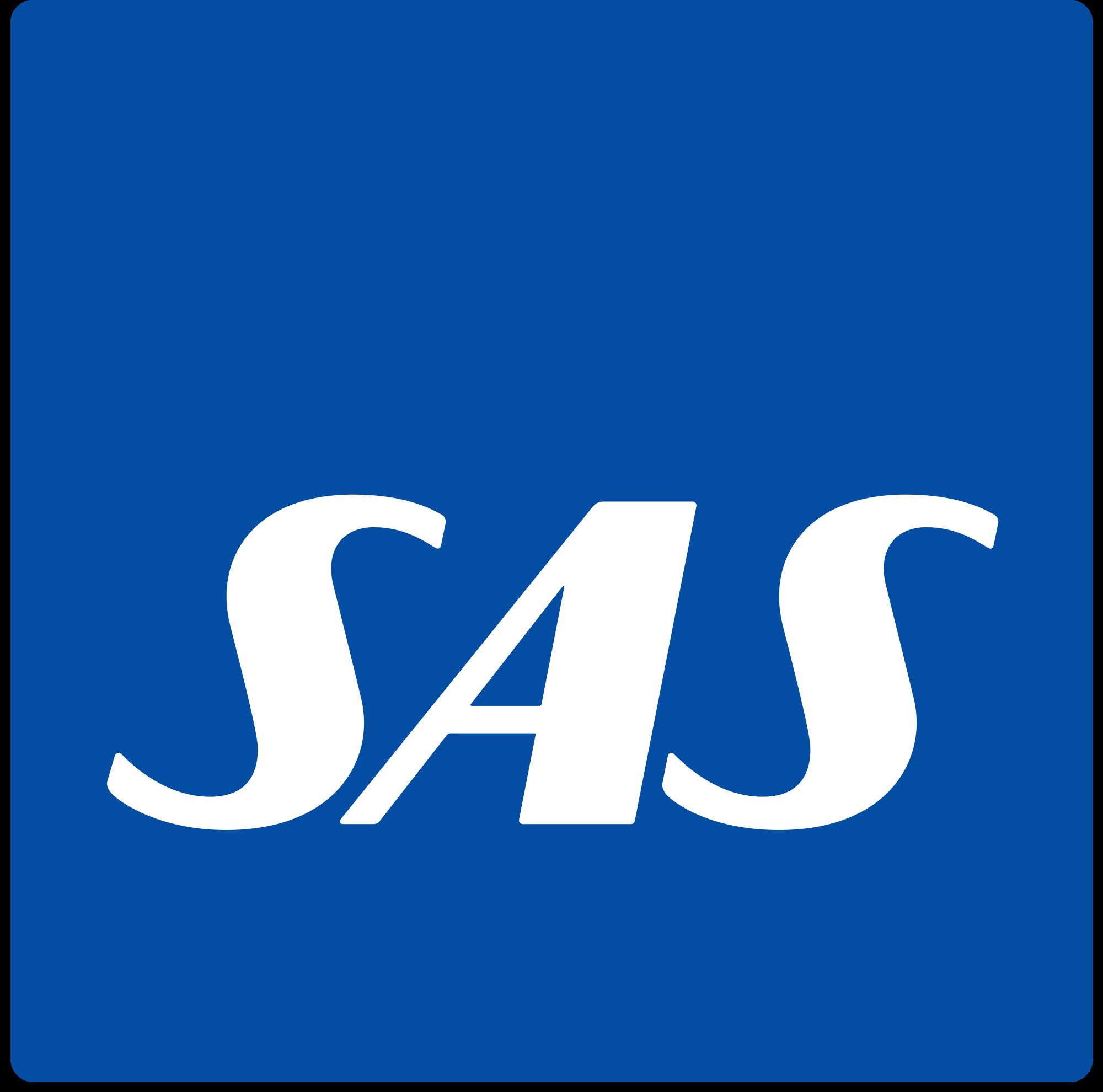 Scandinavian Airlines System Logo Logotipos Aviones Comerciales Lineas Aereas