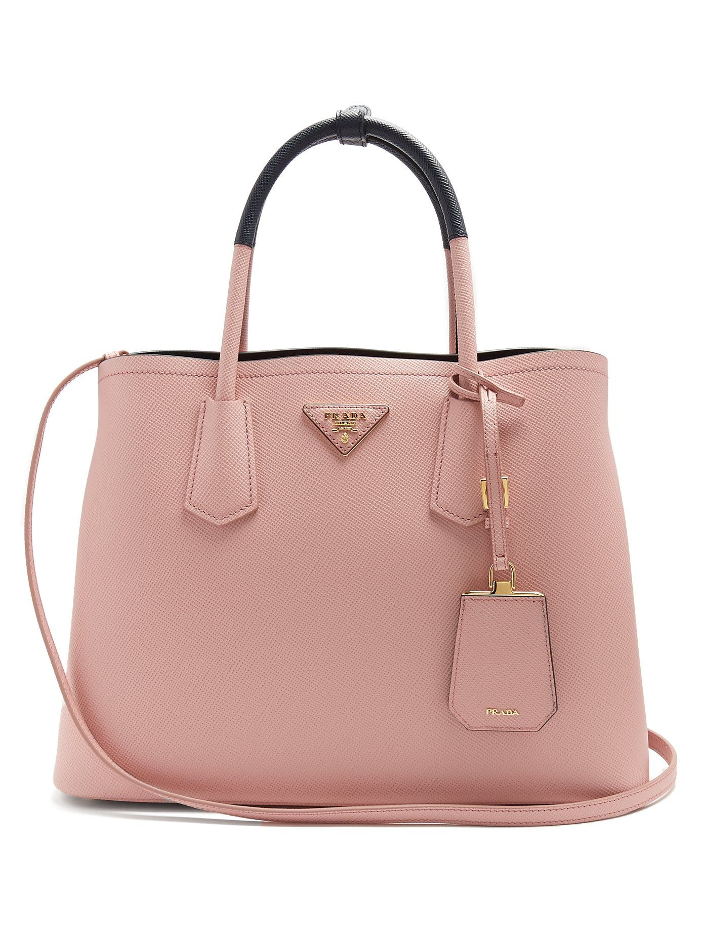 2ff78451816b switzerland this dusty pink saffiano leather prada bag is the ideal  accompaniment for busy daily c81ba