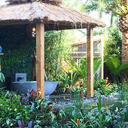 Balinese Garden Gazebo | balinese garden ideas | Pinterest