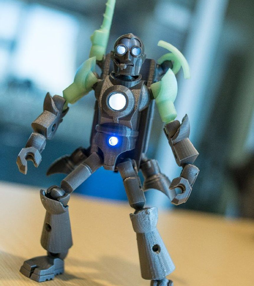 We Just Made An Instructables To Make Your Tinkerplay3d Character