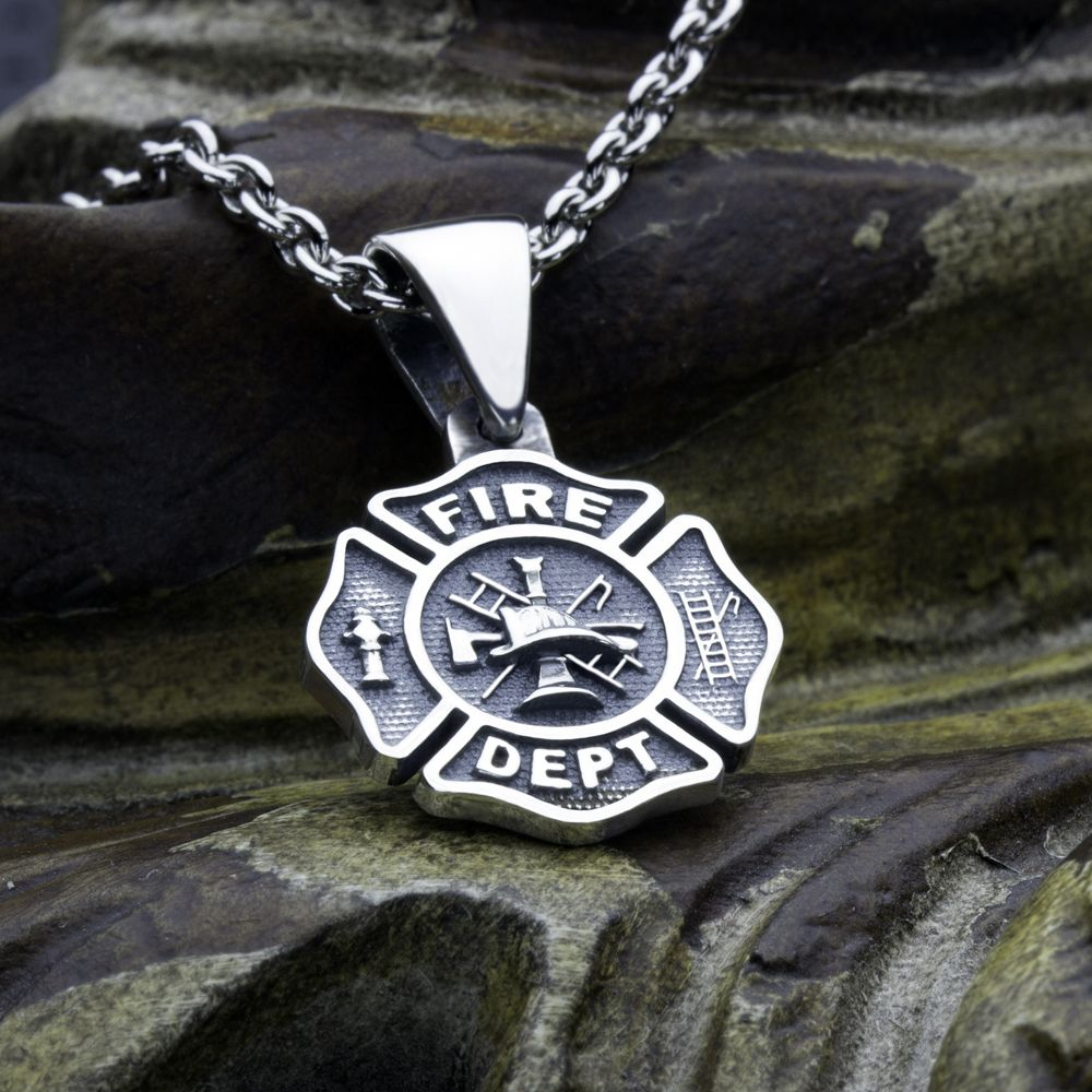 our maltese crystal firefighters firefighter wife pendant cross p htm charm s necklace