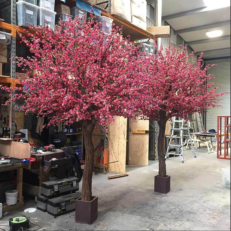 Preserved Trees Pink Blossom Tree Blossom Tree Wedding Blossom Trees
