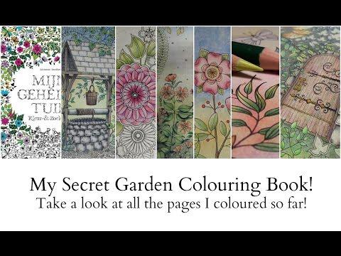 42 My Secret Garden Colouring Book Youtube Secret Garden Coloring Book Techniqu Secret Garden Coloring Book Secret Garden Colouring Gardens Coloring Book