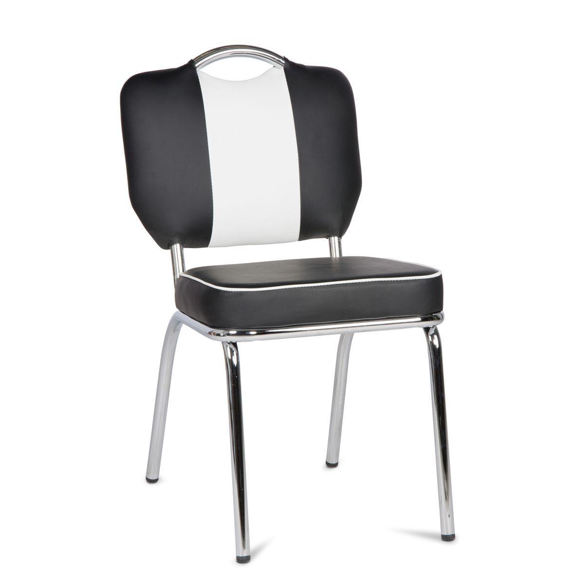 Retro Stuhl Schwarz Luxus Stuhl Elvis American Diner 50er Jahre Retro Bistrosthle Esszimmerstuhle Stuhle Stuhl Schwarz