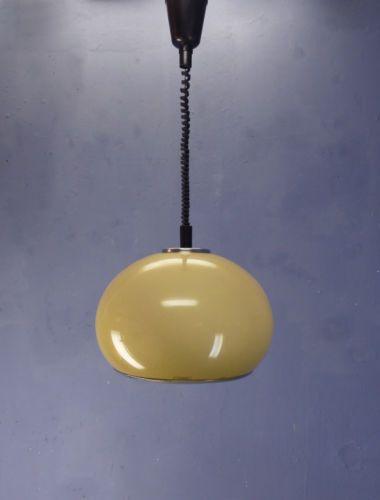 Vintage retro space age 60s 70s guzzini meblo ufo ceiling lamp pull vintage retro space age 60s 70s guzzini meblo ufo ceiling lamp pull down pendant mozeypictures Gallery