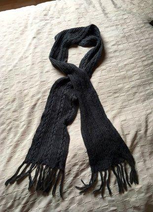 9e5946a2eefd06 Warmer, sehr langer, grauer Wollschal Schals, Jacken, Kleiderschrank, Damen  Mode