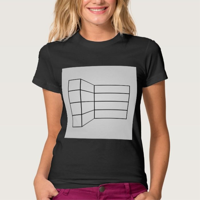 Perspective of a wall- abstract architecture graph T Shirt, Hoodie Sweatshirt