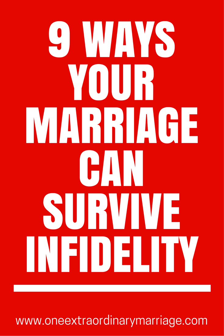 how does a marriage survive infidelity