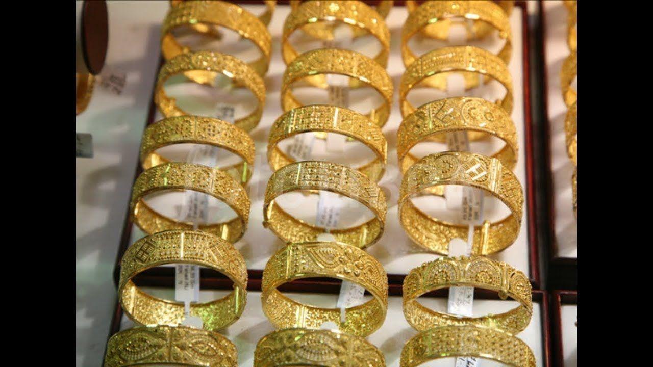 Latest Gold Bangles Designs Dubai Gold Jewellery Collections Razik Je Razik Jewelleries