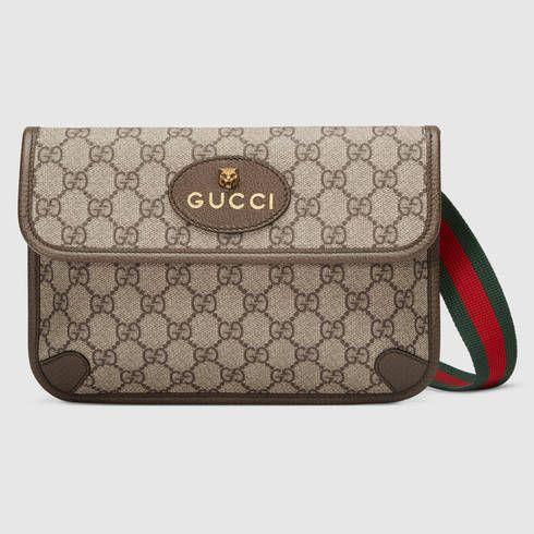 d077061be662 GUCCI Gg Supreme Belt Bag. #gucci #bags #leather #belt bags #canvas ...