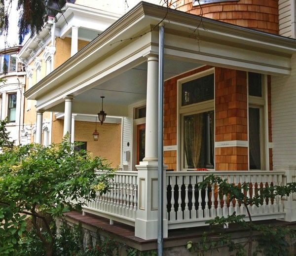 Best 2 1 2 Wood Spindle Victorian Porch Porch Railing 640 x 480