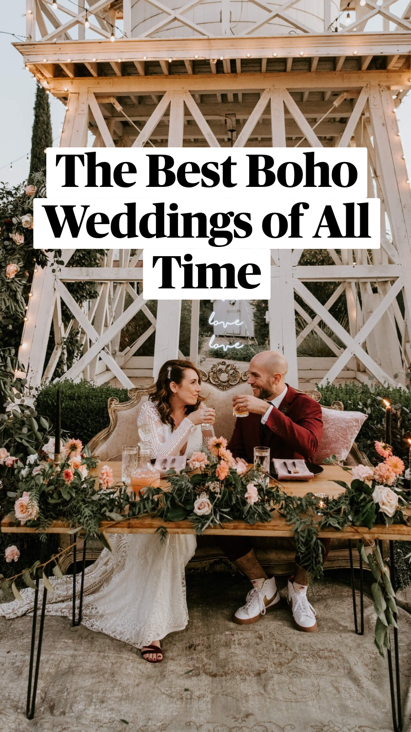 The Best Boho Weddings of All Time