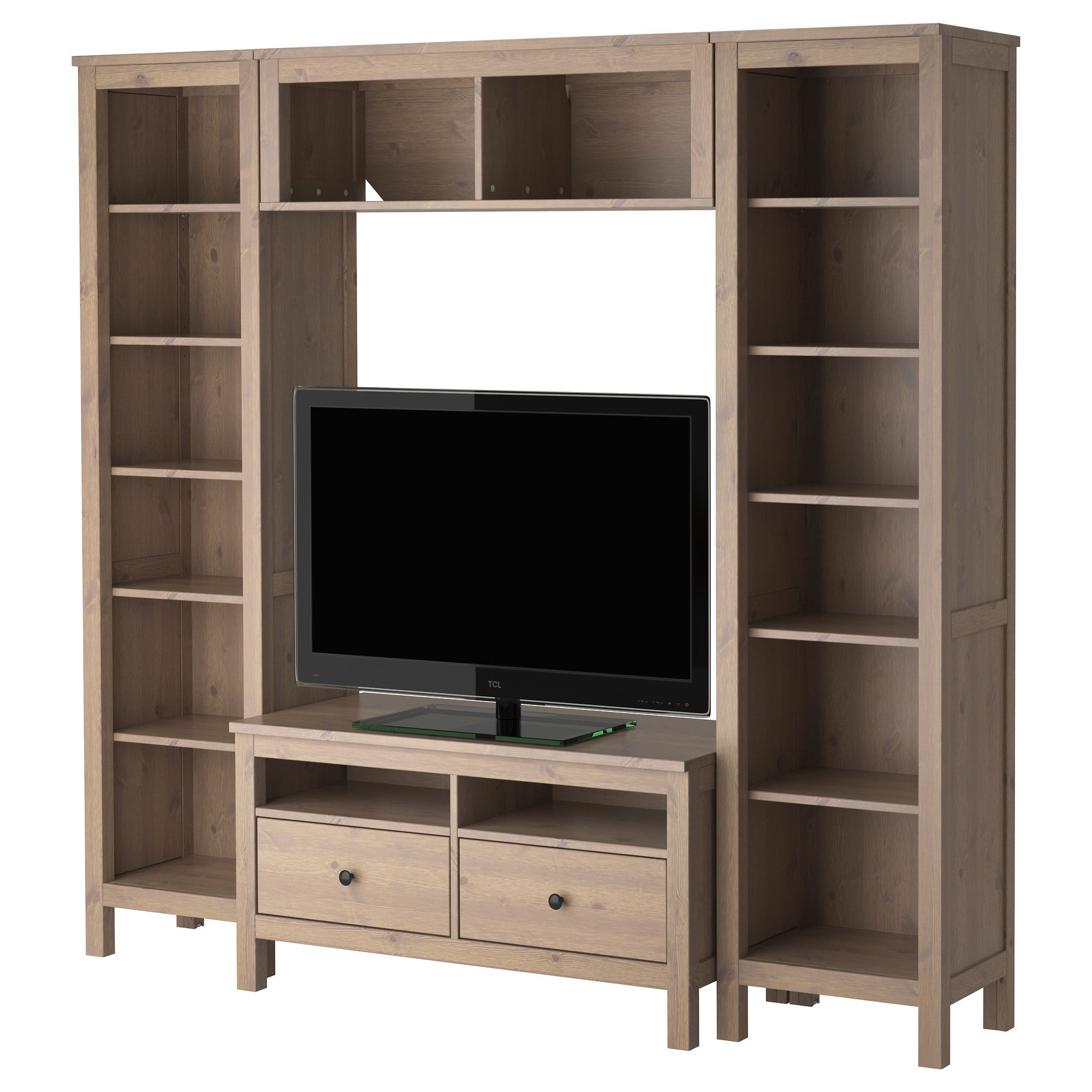 Hemnes Combinaison Meuble Tv Ikea Decoraci N Pinterest Tv  # Meuble Tv Gamer