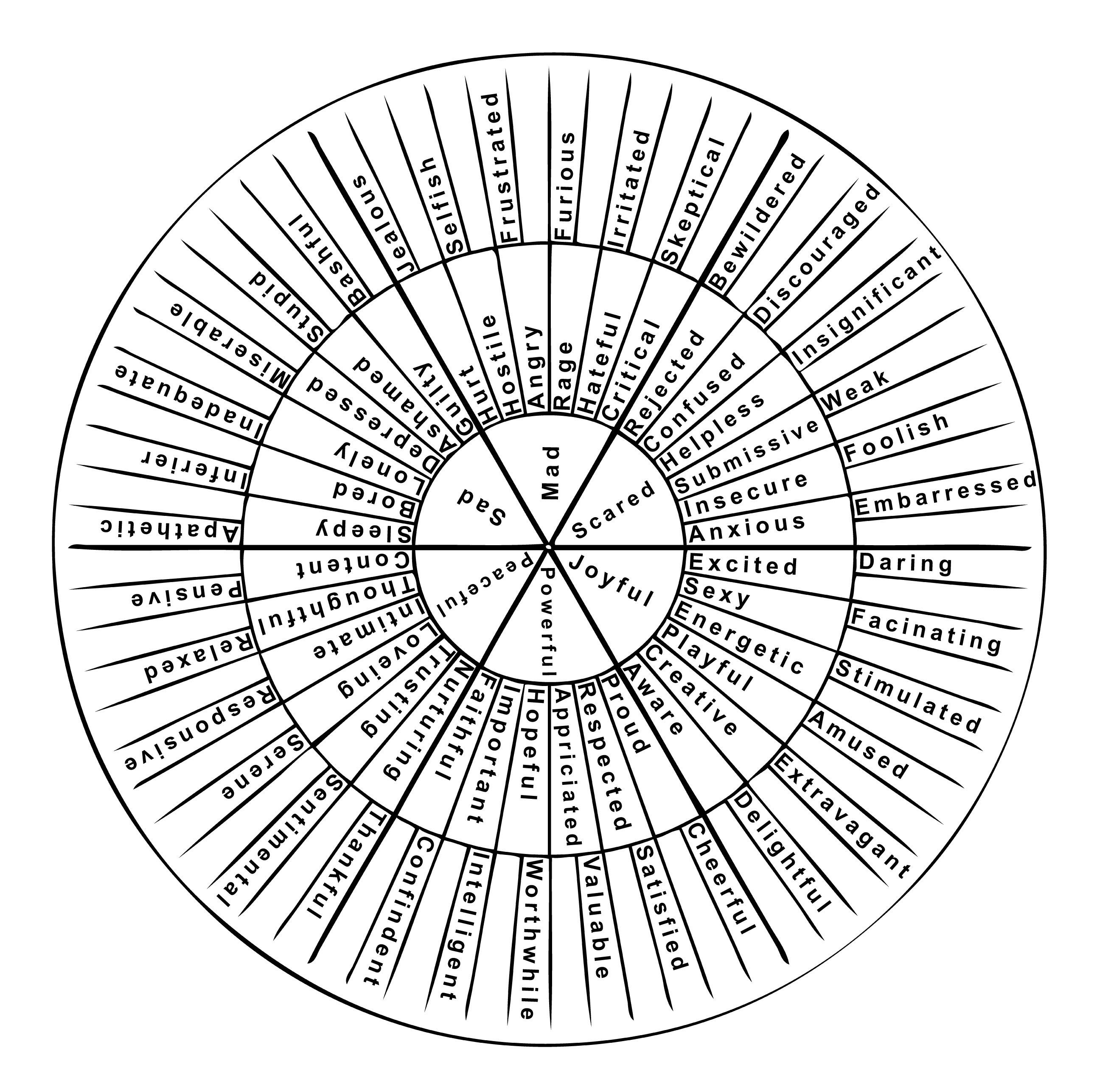 How To Use A Feeling Wheel With Eft
