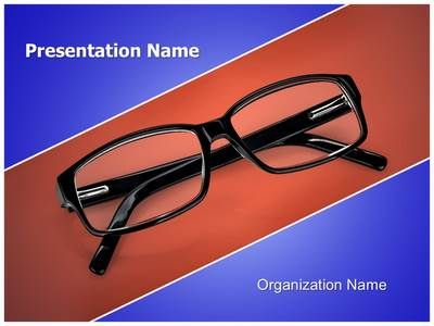 Eye Glasses PowerPoint Presentation Template is one of the best - Medical Templates For Word