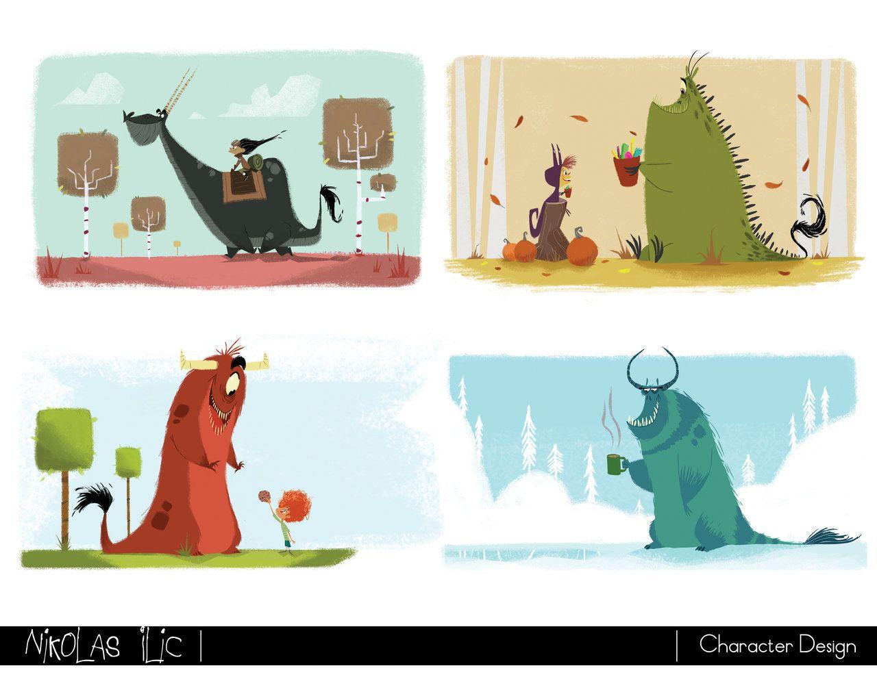 Nikolas Ilic: Designer/ Visual Development Artist | Character ...