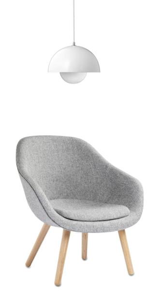 Via Flor Hay About A Chair Panton Flowerpot Lamp Fauteuil Hay Meubel Ideeen Meubelontwerp
