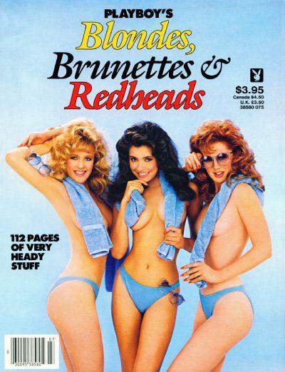 Blonde brunette playboy redhead images