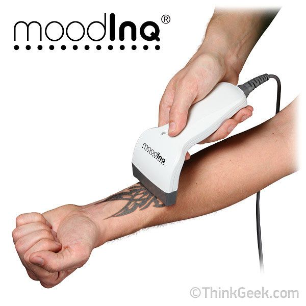 ThinkGeek :: moodINQ - Programmable Tattoo System